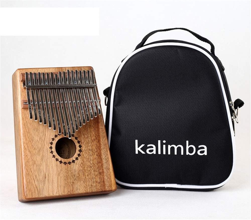 親指ピアノ アフリカの親指ピアノ標準c調17キーカリンバ天然木の指ピアノ金属刻まれた表記タイン ポータブル楽器 (Color : Wood, Size : FREE SIZE)