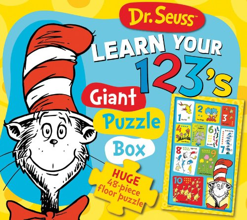 Dr. Seuss Learn Your 123's Giant Puzzle Box: Huge 48-piece floor puzzle (Dr. Seuss Giant Puzzle Boxes)