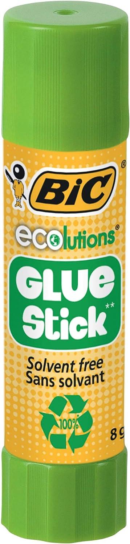 BIC Glue Stick 3 Klebestifte je 8 g frei von Lösungsmitteln ideal für Papier