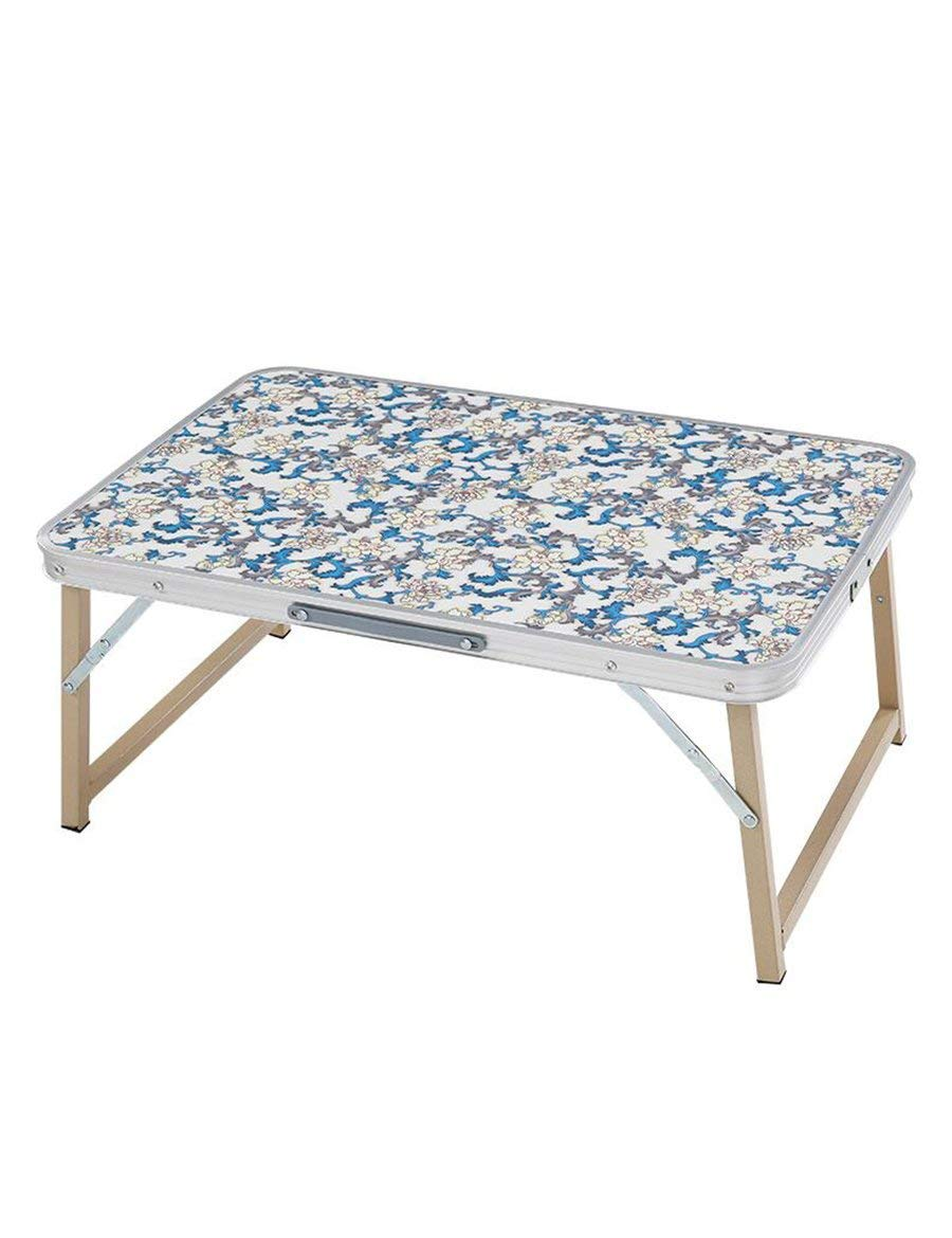 PLLP Table-Foldable Laptop Tables Bed with Lazy Table Simple Indoor Learning Small Table,1