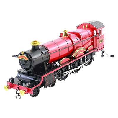 Fascinations Metal Earth ICONX Harry Potter Hogwarts Express Train 3D Metal Model Kit: Toys & Games