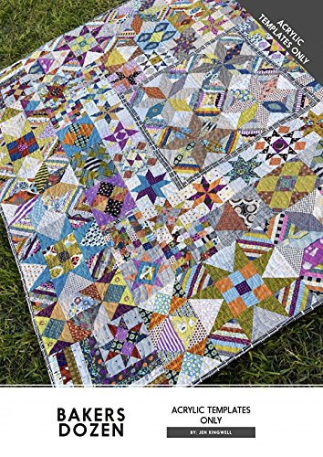 Bakers Dozen Acrylic Templates Only Jen Kingwell Quilting by Jen Kingwell