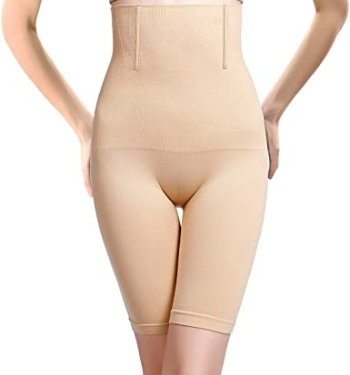 Joyshaper Thigh Slimmer Shapewear High Waist Tummy Control Body Shaper Shorts Butt Lifter Shaping Panty for Women