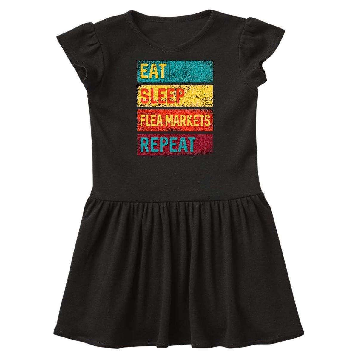inktastic Bargain Shopper Eat Sleep Thrifting Repeat Baby T-Shirt