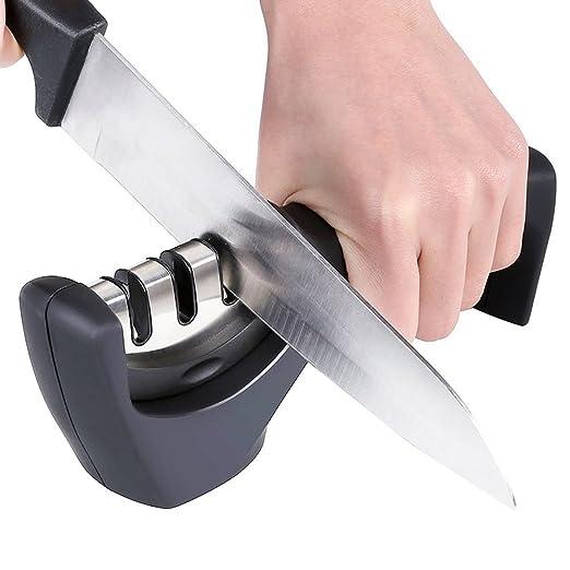 Afilador de cuchillos de cocina Kit Professional - Afilador ...