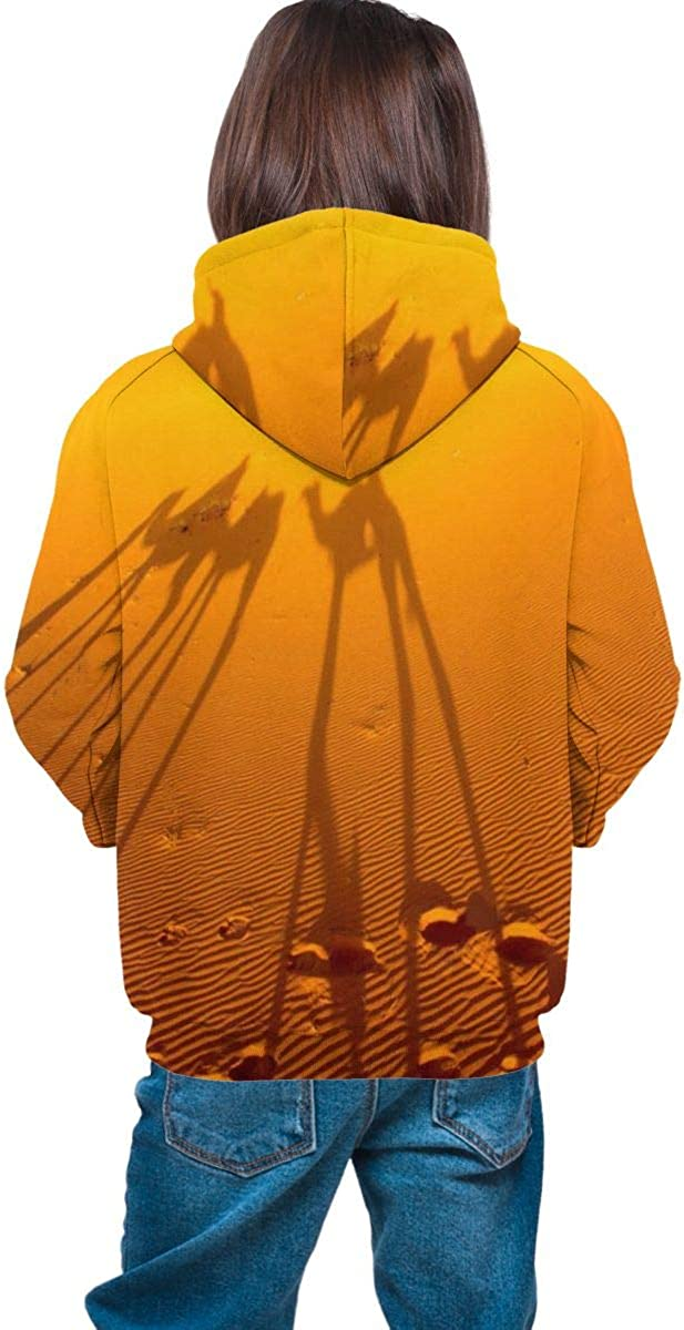 Hooded Sweater for Boys Girls North Africa