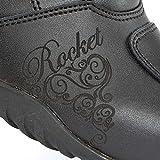 Joe Rocket Trixie Womens Motorcycle Boots Black 6 USA