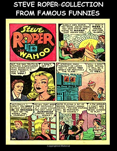 Steve Roper Collection From Famous Funnies: Steve Roper Stories From The Golden Age Comics Famous Funnies