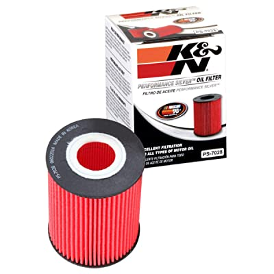 K&N Premium Oil Filter: Designed to Protect your Engine: Fits Select MERCEDES BENZ/FREIGHTLINER/DODGE/JEEP Vehicle Models (See Product Description for Full List of Compatible Vehicles), PS-7028: Automotive