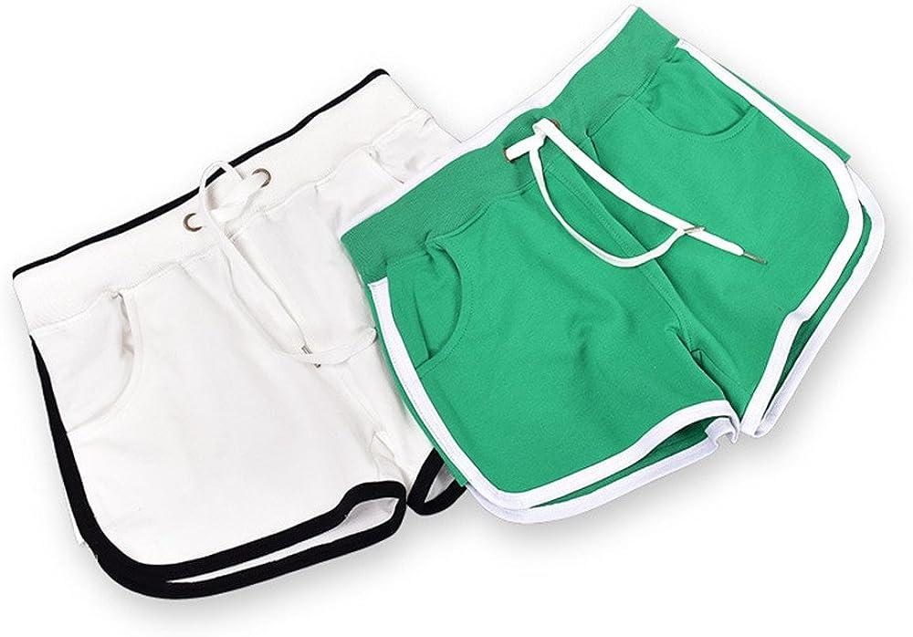 Shireake Baby New Summer Pants Women Sports Shorts Gym Workout Yoga Short