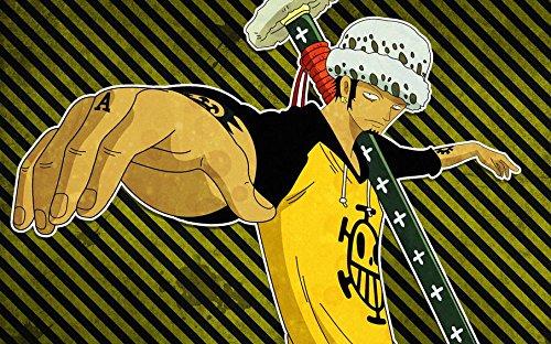 One Piece Strong World Customized 38x24 Inch Silk Print