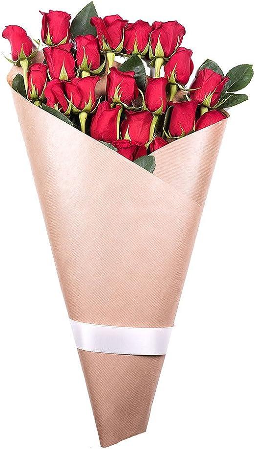 Fiori 24 Ore.Fiori Freschi Florachic 20 Rose Rosse Invio Gratis In 24 Ore