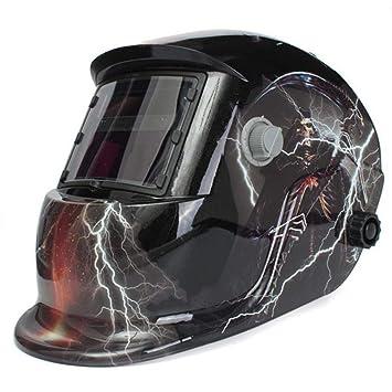 ... automático de soldador Máscara de la máscara del casco de soldadura eléctrica Soldadura TIG MIG soldador: Amazon.es: Bricolaje y herramientas
