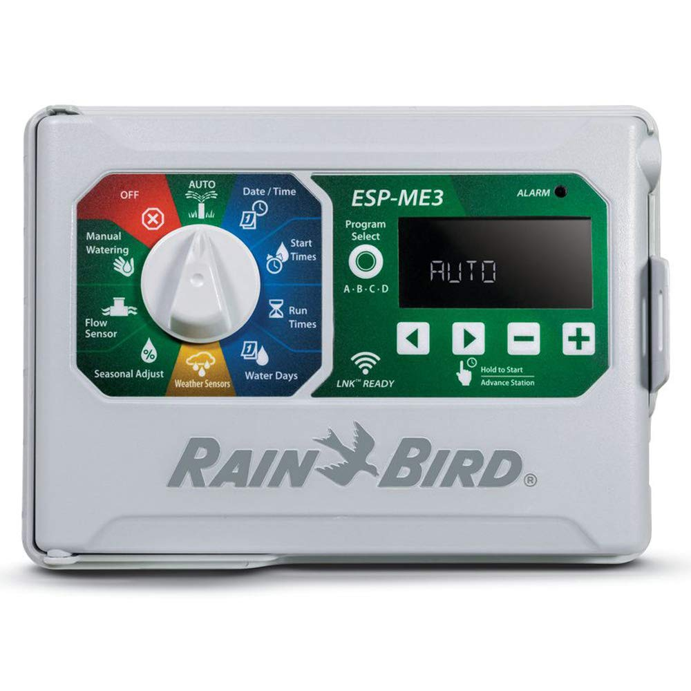 Rain Bird ESP4ME3 Indoor Outdoor 120V Irrigation Controller LNK WiFi Compatible ESPME3