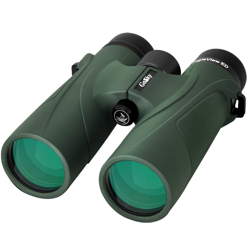 Gosky Eagleview 10 x 42双眼鏡大人プロのEdガラス防水双眼鏡for Bird Watching旅行Stargazing Hunting sport-withコンサート電話アダプタアクセサリー B079CC78QS EagleView 8x42 ED EagleView 8x42 ED