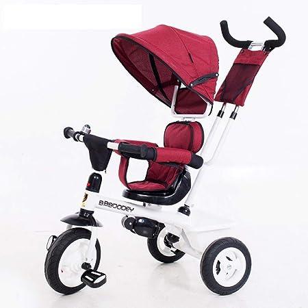Triciclo para niños Triciclos 4 en 1 para niños De 1 a 6 años Fácil de