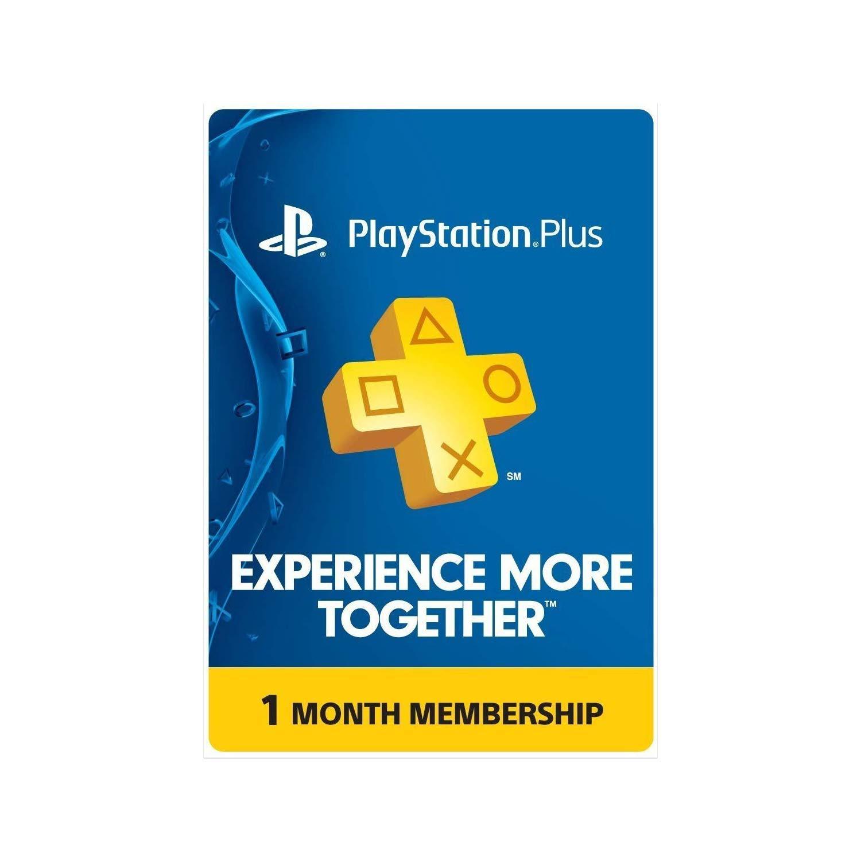 PlayStation Plus Card (1 Month) [DIGITAL