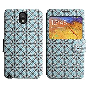 LEOCASE modelo lindo Funda Carcasa Cuero Tapa Case Para Samsung Galaxy Note 3 N9000 No.1004924
