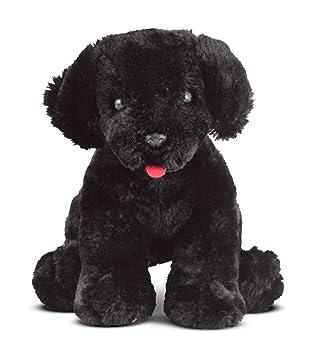benson labrador soft toy black