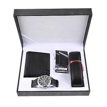 Souarts Ensemble Coffret Cadeau Montre pour Homme (Style 6)  Amazon ... f0356db844a