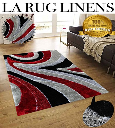 la-rug-linens-huge-blowout-sale-5x7-dark-red-light-red-silver-gray-titanium-black-two-tone-luxurious
