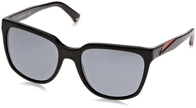 Amazon.com: Armani ea4070 Gafas de sol 50176 G-55 – Espejo ...