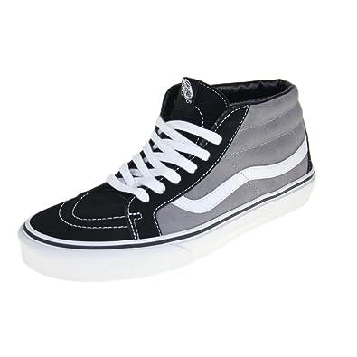 Vans Sk8 Mid Reissue Herren Sneaker Grau: Amazon.de: Schuhe ...