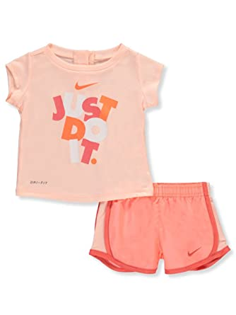 Nike Baby Girl Clothes Adorable Amazon NIKE Baby Girls' DriFit 60Piece Outfit Clothing