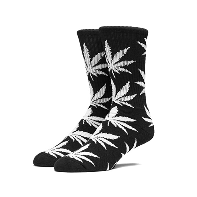 HUF WORLDWIDE - PLANTLIFE CREW SOCKS ESSENTIAL - CALCETINES SKATE Hombre color: BLACK/WHITE talla: UNICA: Amazon.es: Ropa y accesorios