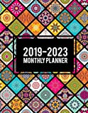 2019-2023 Monthly Planner: Colorful Mandala