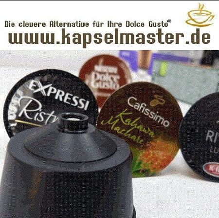 Der Kapselmaster - Soporte para cápsulas de Aldi-Süd®, Tchibo® y otras marcas en la cafetera Dolce Gusto®: Amazon.es: Hogar