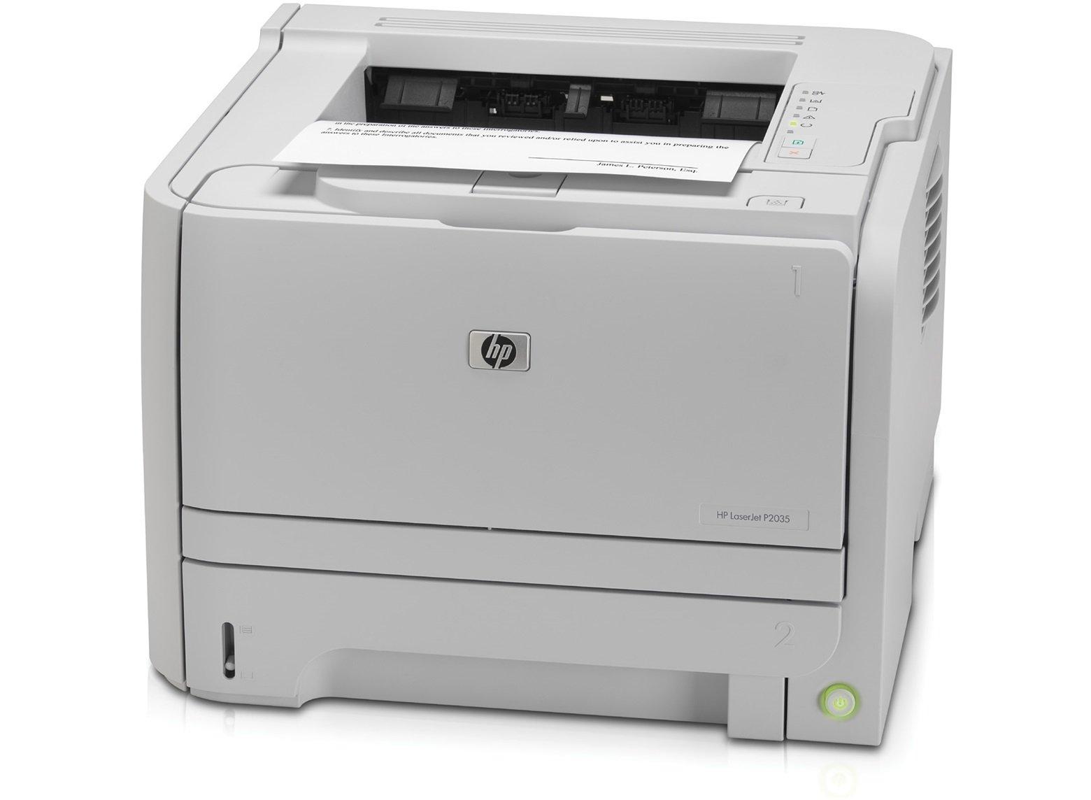 HP Refurbish LaserJet P2035 Laser Printer (CE461A) - (Renewed)