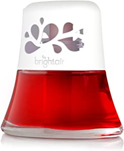 Bright Air 900022 Scented Oil Air Freshener and Diffuser, Macintosh Apples and Cinnamon Scent, 2.5 Ounces, Red