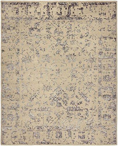 Mystique Charcoal Rug (Harounian Rugs Internationa 11330 8 x 10 ft. Mystique Area Rug - Grey & Charcoal)