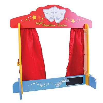 Bigjigs - Teatro de Marionetas (BIBJ339): Juguetes y juegos