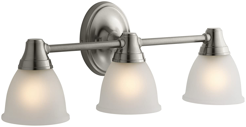 KOHLER K-11367-BN Transitional Triple Light Sconce for Forte ...