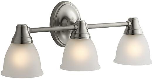 KOHLER K 11367 BN Transitional Triple Light Sconce For Forte Faucet Line,  Vibrant