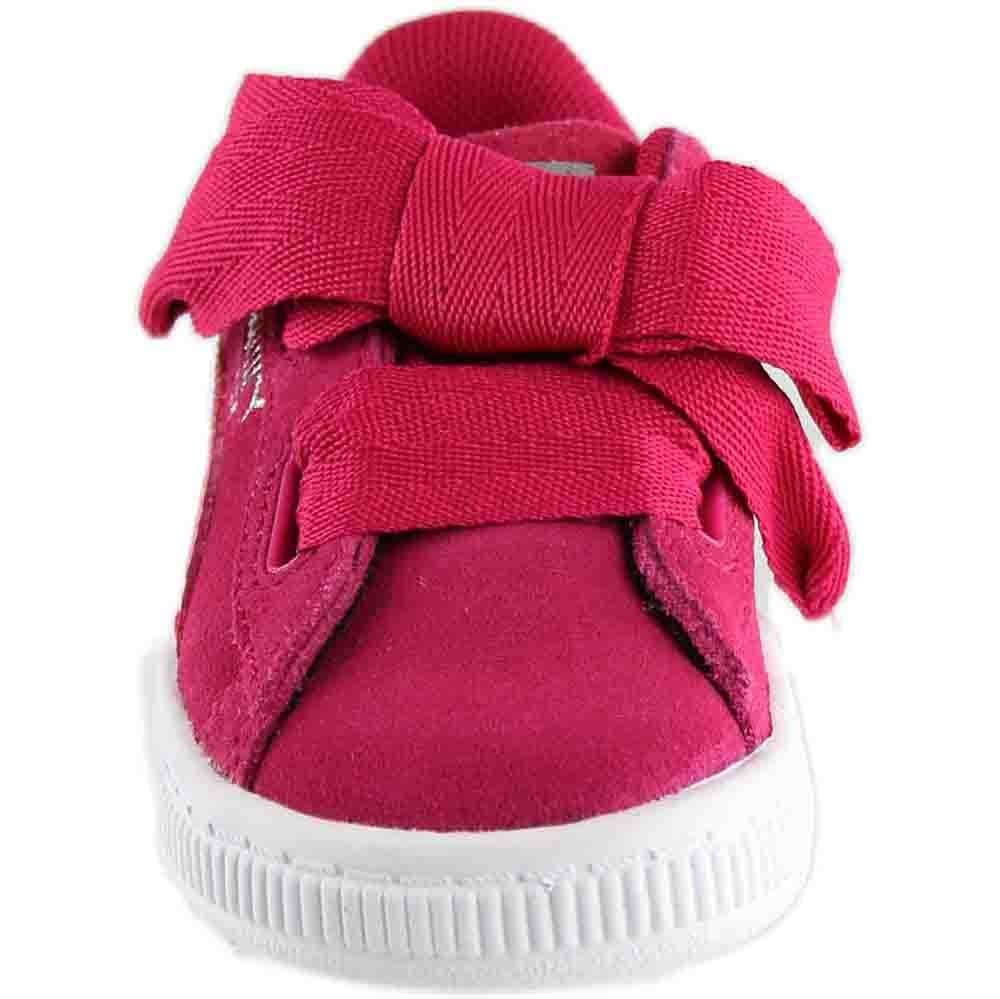 PUMA Unisex-Kids Suede Heart SNK,Love Potion/Love Potion,7 M US Toddler by PUMA (Image #5)