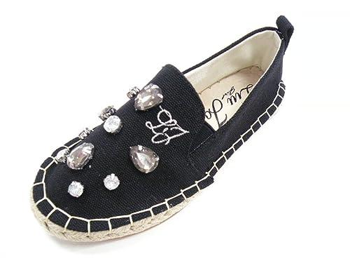 LIU-JO Zapatillas de esparto de mujer, color negro Negro Size: 38: Amazon.es: Zapatos y complementos