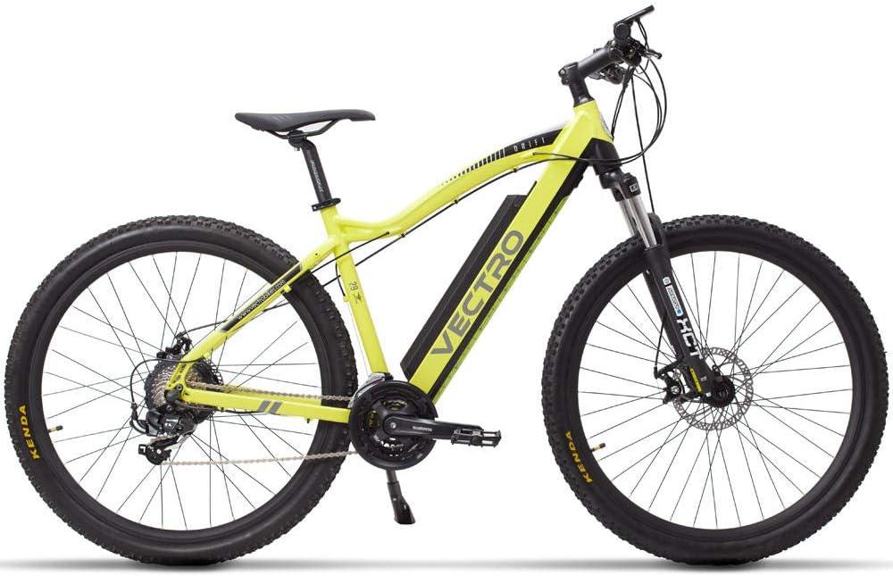 Bicicleta De Montaña Eléctrica Impulso De Batería De Litio Invisible Viaje Para Adultos Velocidad Variable Uso De Neumáticos De 29 Pulgadas Voltaje 36 / 48V Velocidad Máxima: 20 Km/H-36V Amaril