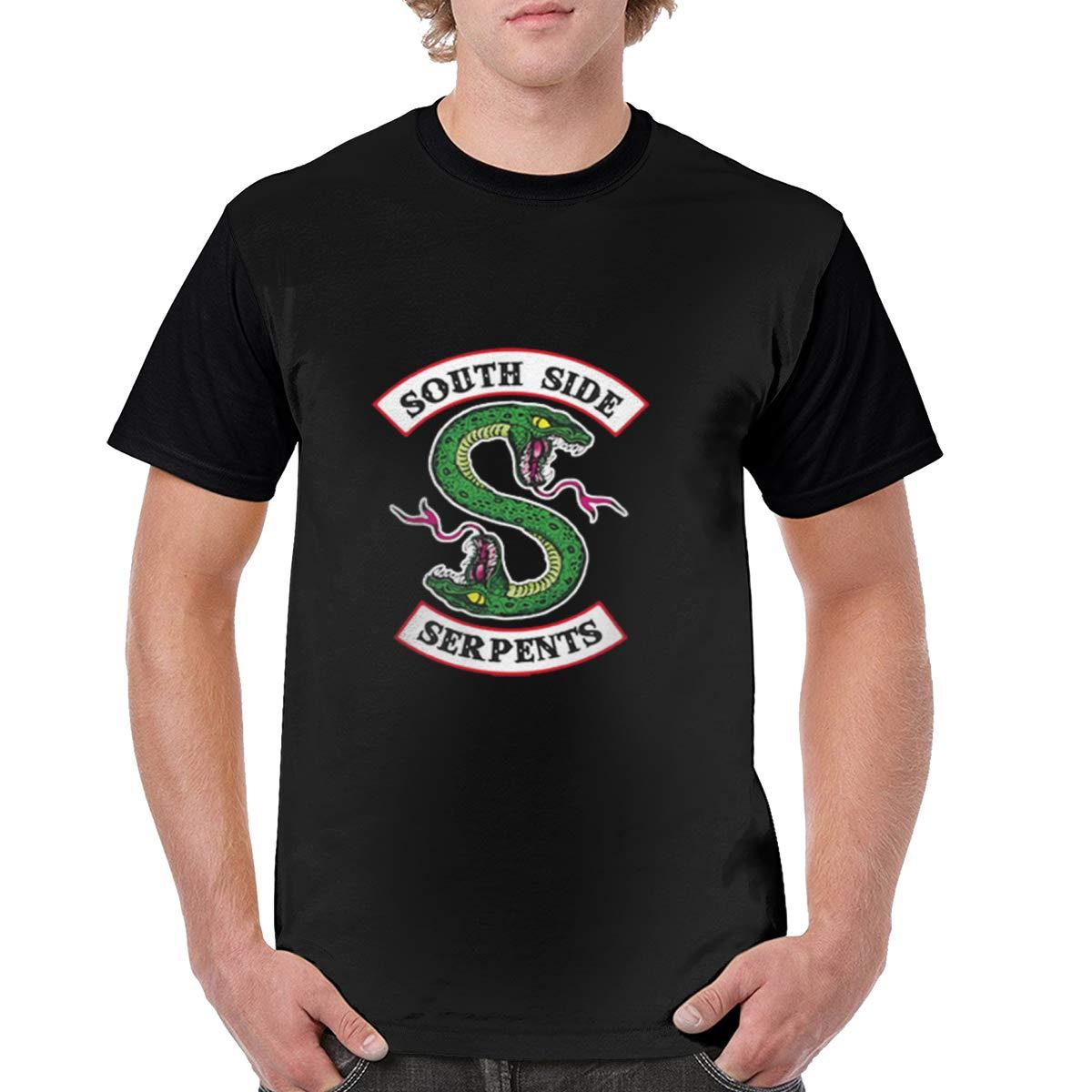 Novelty Riverdale Southside Serpent Parent Child Men's Black Shirts