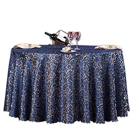 Moldiy Contemporary Tablecloth Fabric Table Cover Woven Overlays With  Jacquard Pattern For Banquet/Parties/