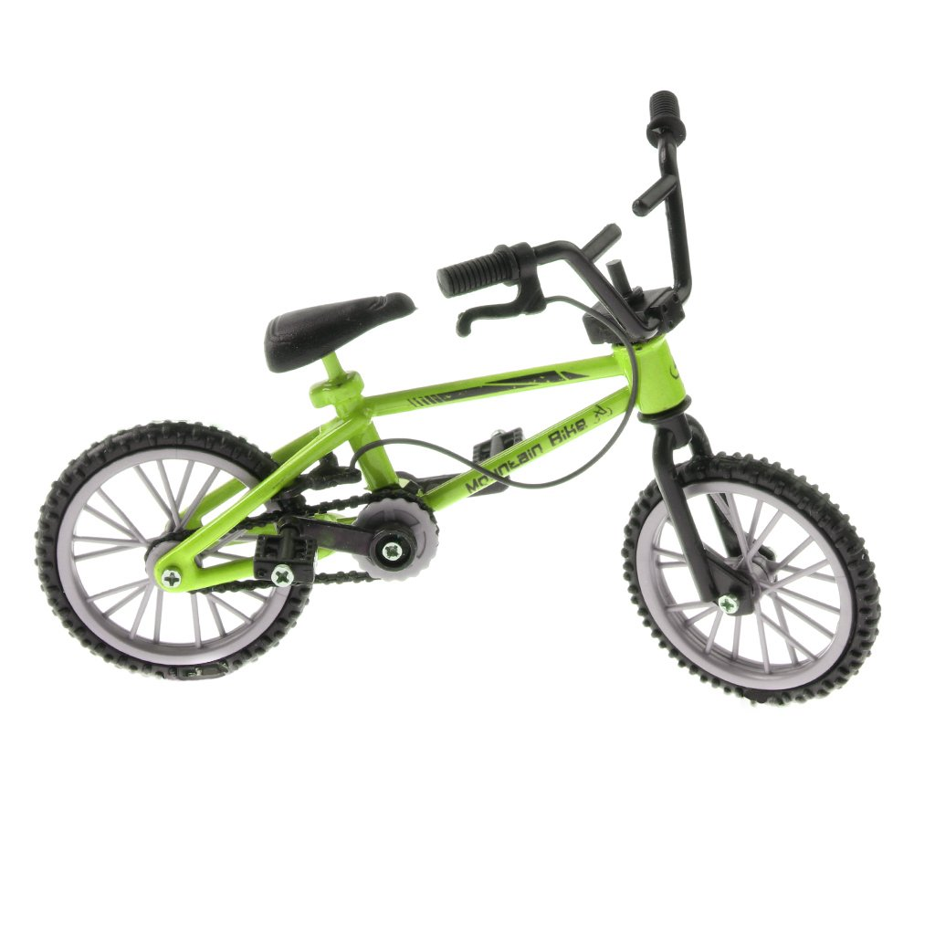 CUTICATE 3 Piece Finger Bicycle Toy 1:24 Bike Simulation Model Childrens Toy Present