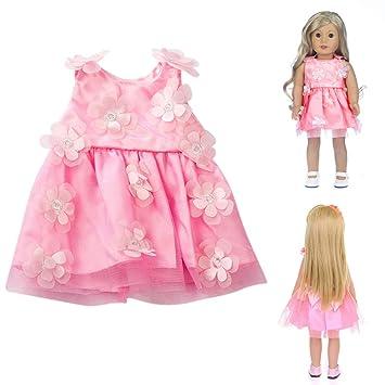 f7abc2c3ebdbf kingko Robe Vêtement Costume Vêtements Robe Lady Style pour 18 Pouce  Américain Garçon Accessoire Fille Jouet