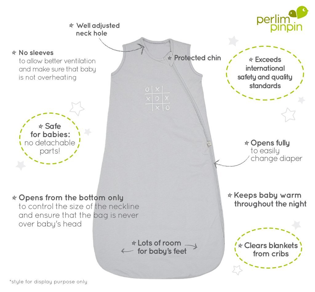 100 percent Natural Cotton 2 Tog #1 Nap Bag in Canada Woven Cotton Nap Bag 18-36M, Pink Scallops