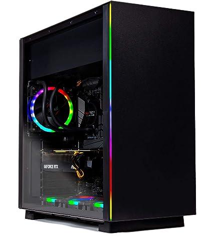 SkyTech [RTX 2080] Oracle X – VR Ready Gaming Computer PC Desktop – Ryzen 7  2700X, RTX 2080 8GB, 240GB SSD, 1TB HDD, 120mm Liquid Cool, 16GB DDR4,