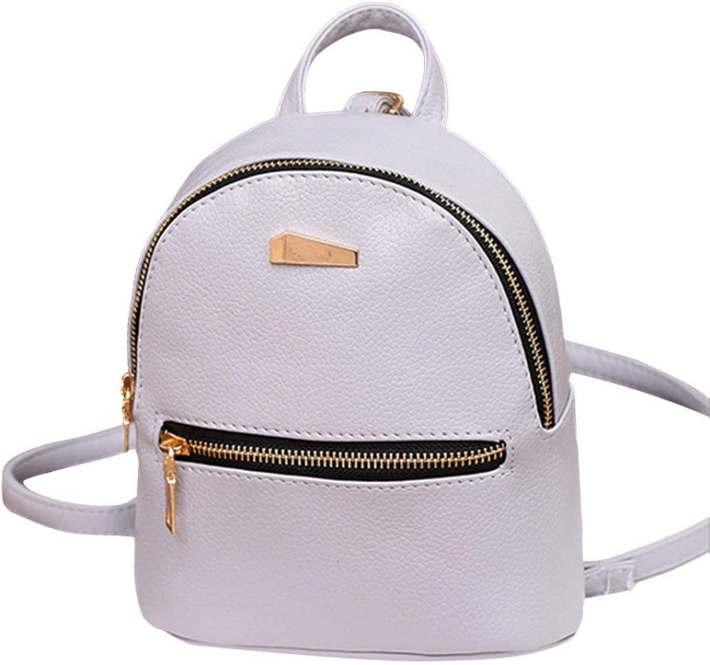 Inkach Womens Backpack Purse Fashion Mini Leather School Rucksack Travel Satchel Shoulder Bags