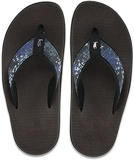 product image for Island Slipper Mokulua Moku Sandal - Blue Camo - Size 11