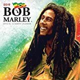 Bob Marley 2019 12 x 12 Inch Monthly Square Wall Calendar, Music Jamaica Celebrity Reggae Ska Icon Singer Songwriter