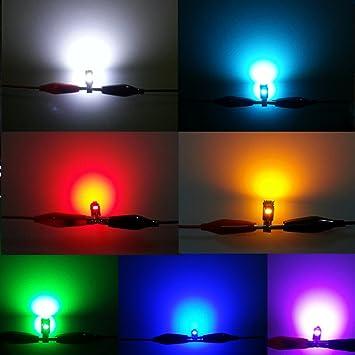 WLJH 28pcs T5 LED luz 74 2721 bombillas LED Tablero tablero de instrumentos del coche LED ...